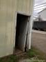 Pole barn door before