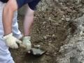 Concrete footer excavation Columbus Ohio