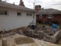 Concrete block foundation Columbus Ohio