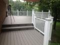 Custom deck with lighting Columus Ohio
